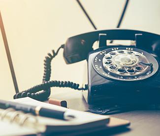 Bild: Altes Telefon